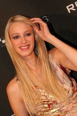 Mandy von Germany's Next Topmodel@Aftershowparty von Justin Timberlake