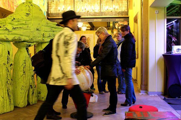 Mané Wunderlich Ausstellung 25 Jahre Mauerfall monumentalWunderlich in den Heckmann Höfen