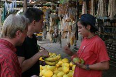 Mangos und Bananen
