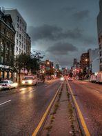 Manhattan am Abend