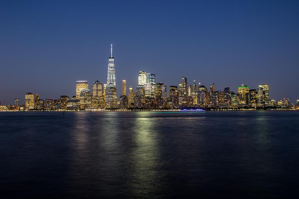 Manhattan-Blaue Stunde