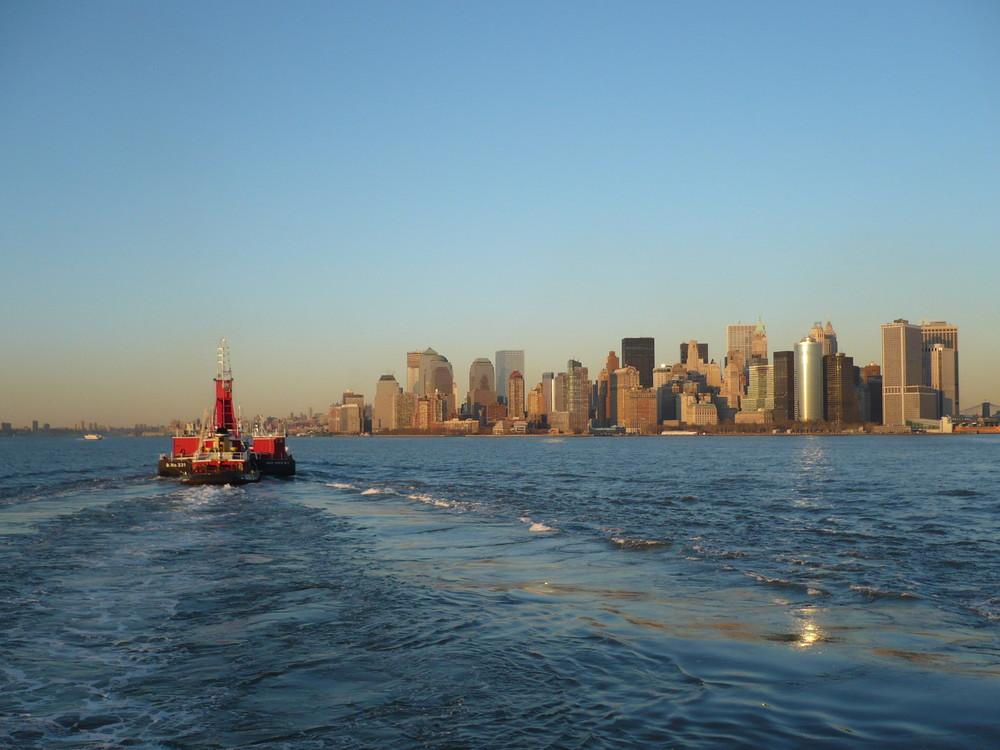 Manhattan boat