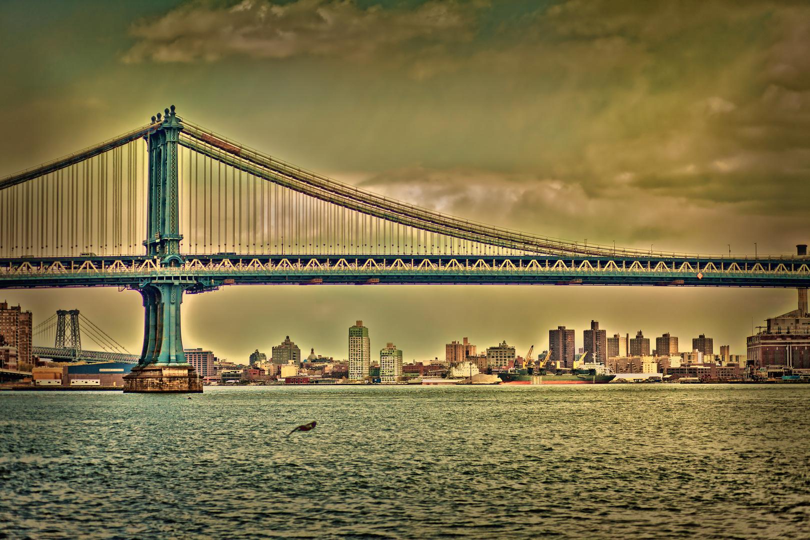 Manhattan bridge, 2012