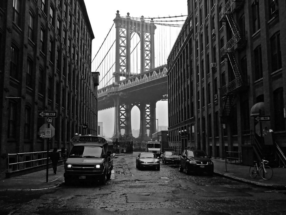 manhattan bridge foto bild north america united states new york state bilder auf fotocommunity. Black Bedroom Furniture Sets. Home Design Ideas