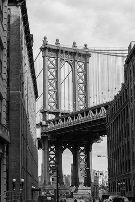 Manhattan Bridge retro