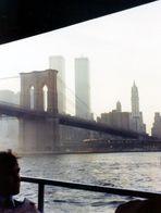 Manhattan mit World Trade Center 1977 Memory
