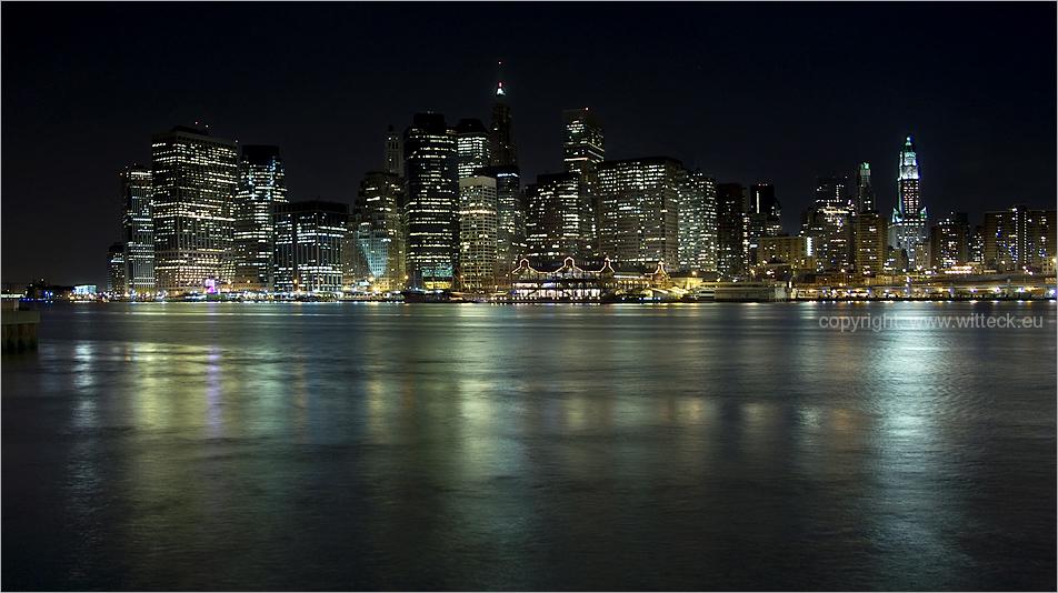 Manhattan nachts