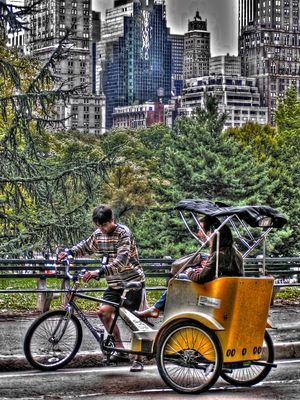 Manhattan Rikscha