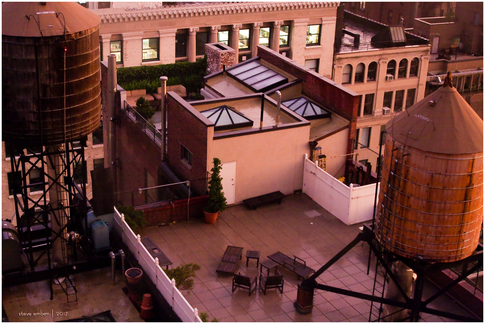 Manhattan Rooftops No.1
