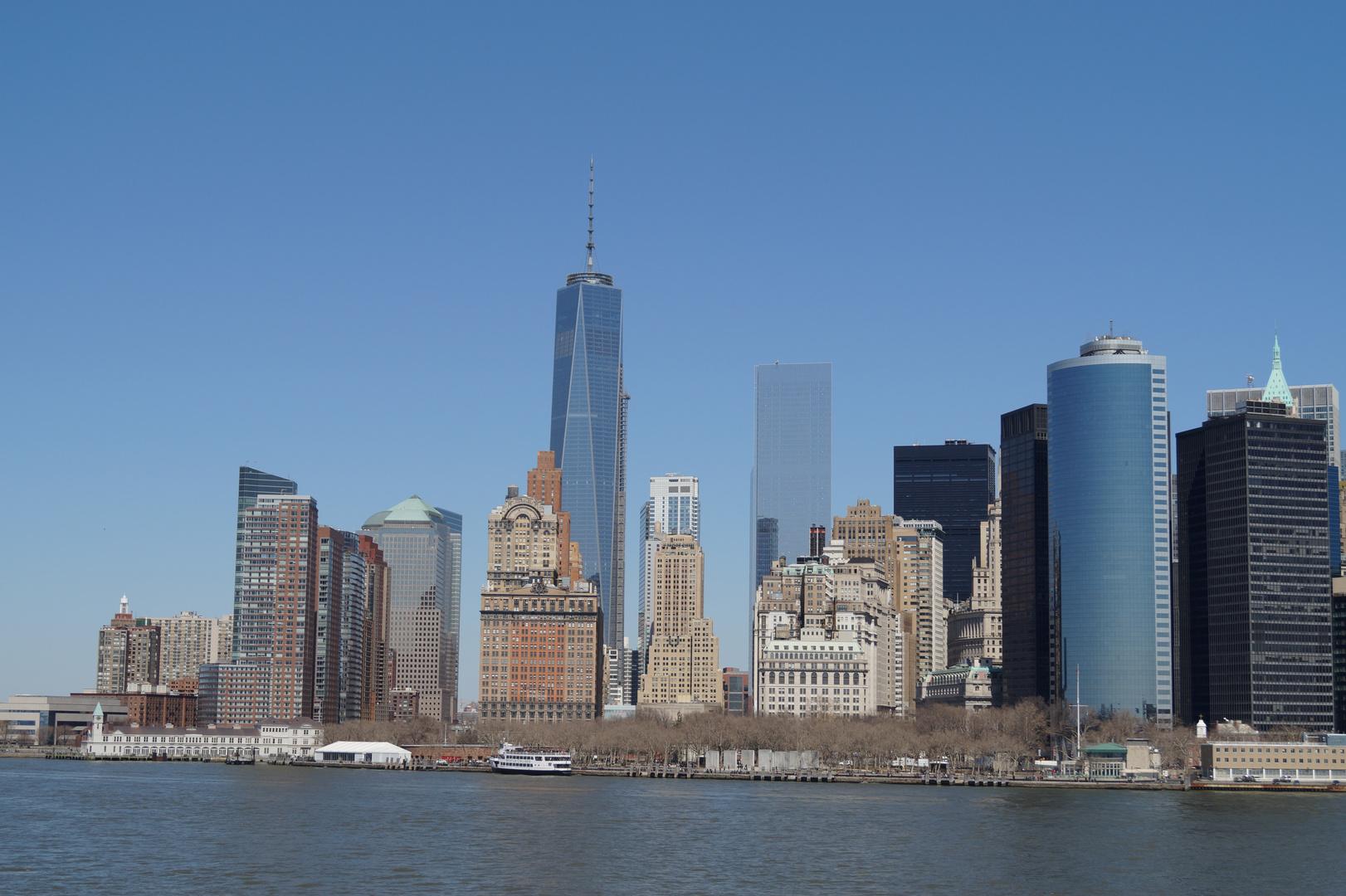 Manhattan Skyline 2014