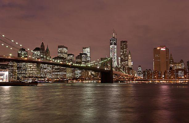 Manhattan Skyline, NY