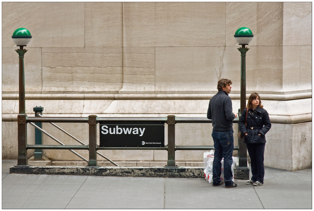 Manhattan Subway