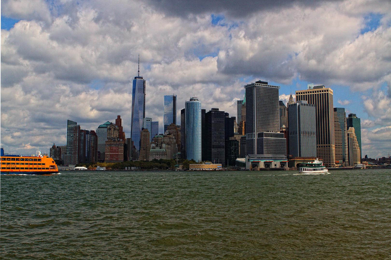Manhattan & the new Tower I