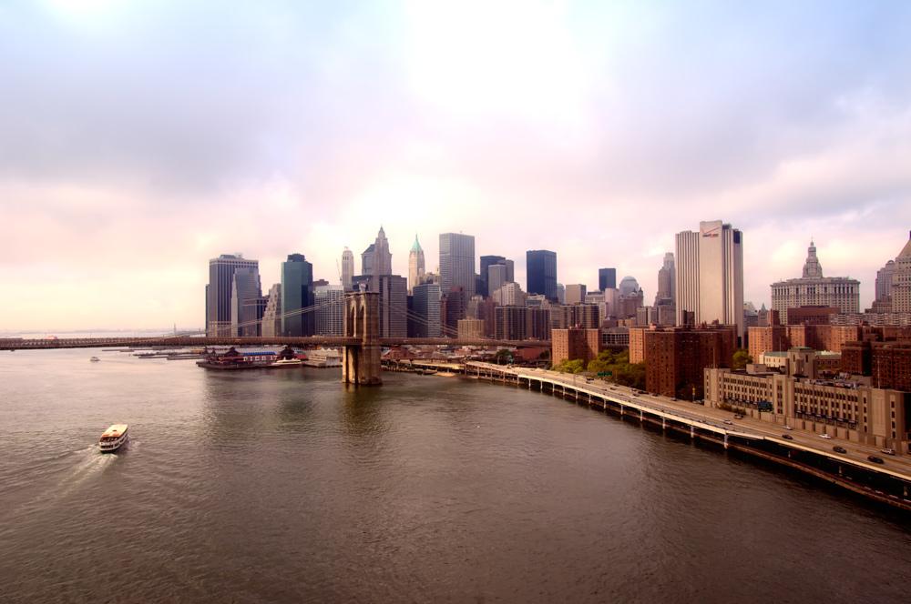 Manhattan - view from the manhattan bridge