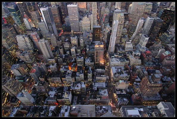 Manhattan von oben