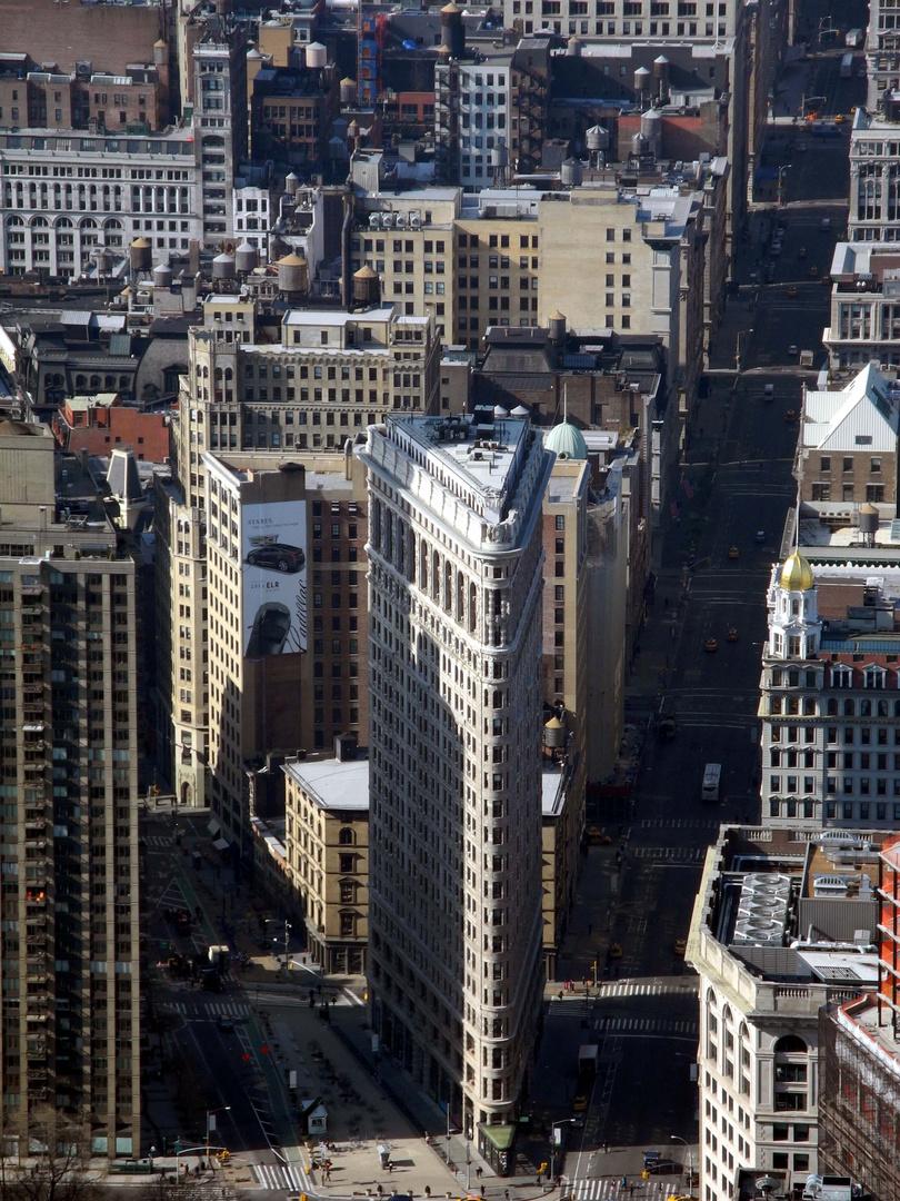 Manhattan von oben.....