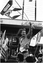 Manifestacion por el pueblo saharaui