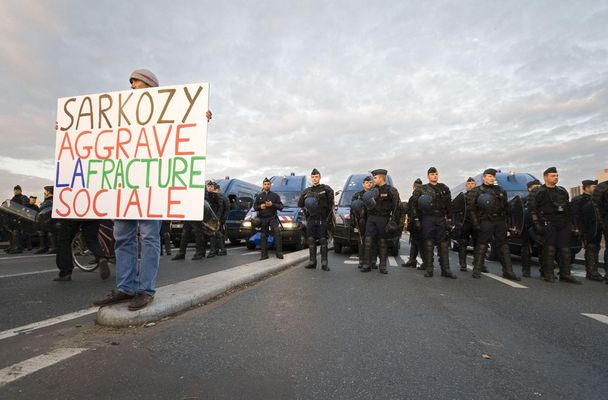 Manifestation du 14 novembre 2007 Paris