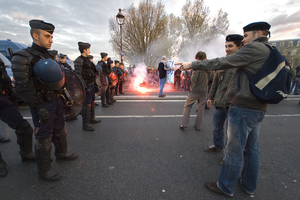 Manifestation du 14 novembre 2007 Paris