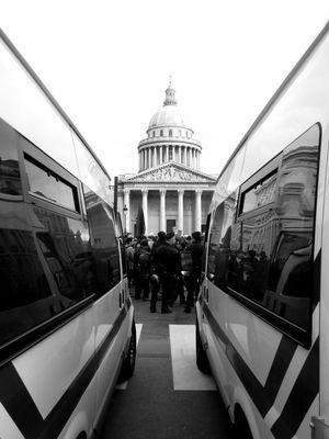 Manifestation ... Panthéon...