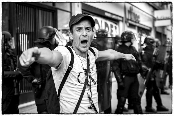 Manifestation parisienne du 5 juillet 2016