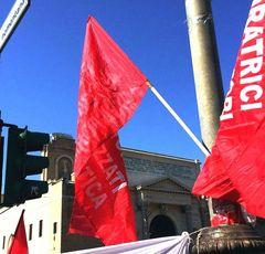 Manifestazione a Porta Pia