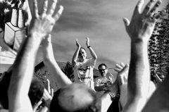 Manifestazione contro l'inceneritore .Partecipazione di Roberto Vecchioni