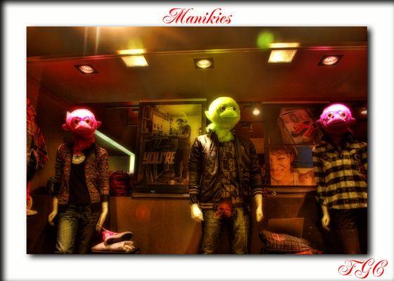 maniquies ( tienda de ropa de Reus)