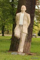 Mann am Baum