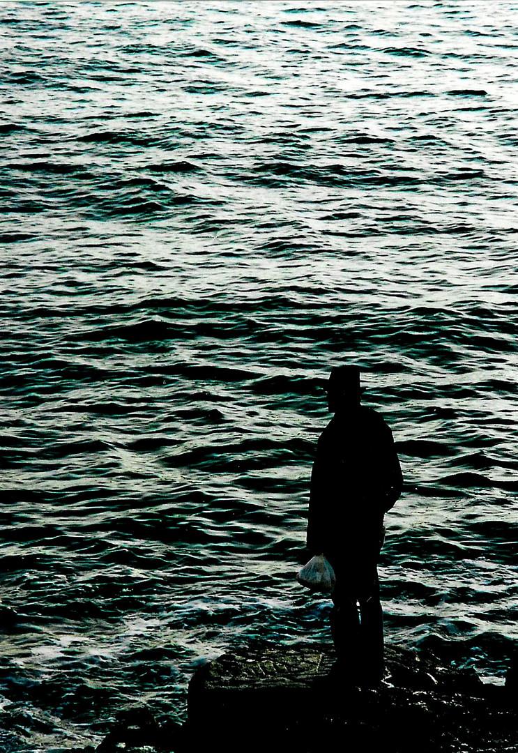 Mann am Meer