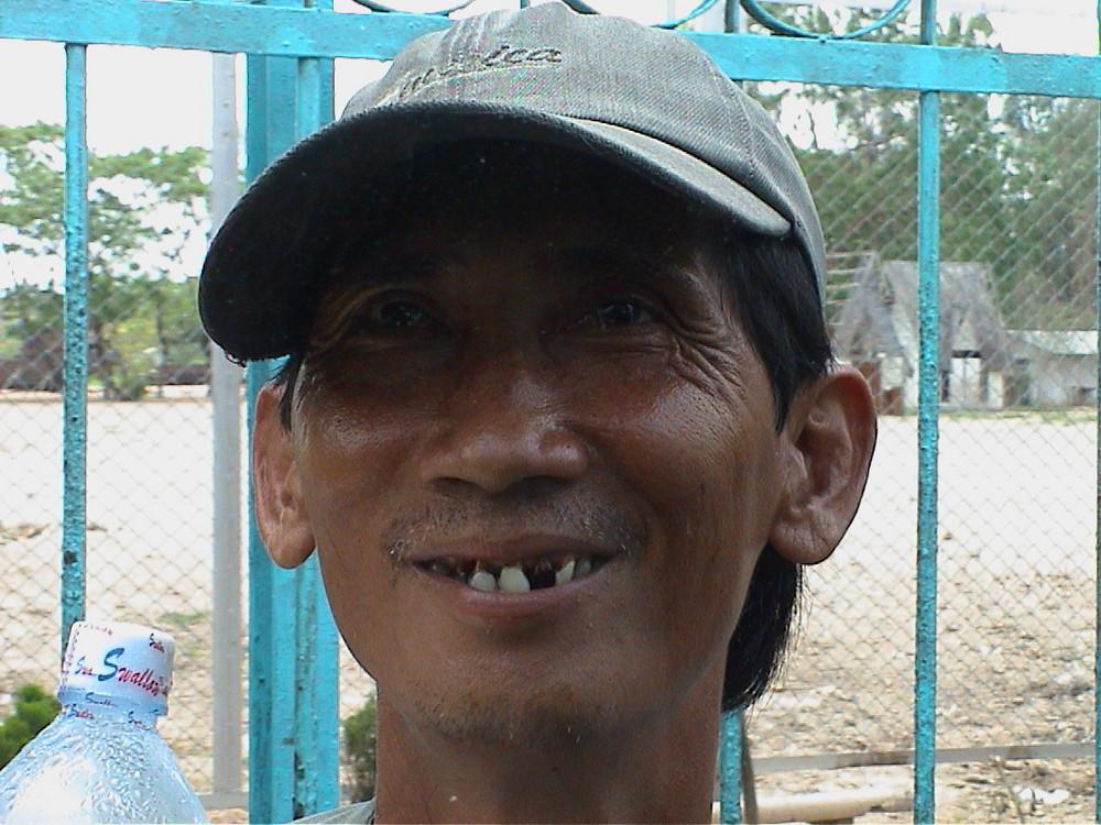 Mann am Mekong