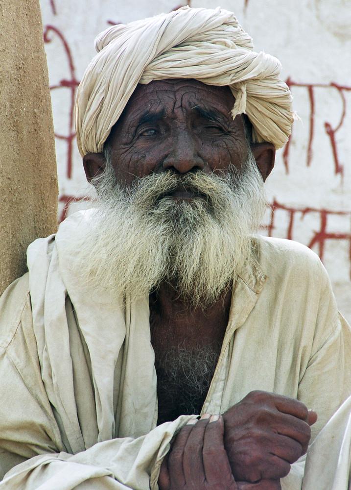 Mann in Indien