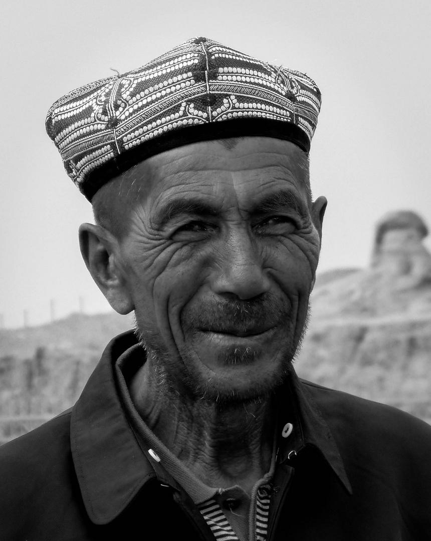 Mann in Kashgar