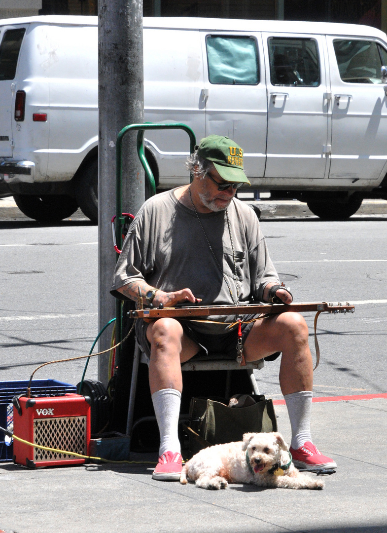 Mann in San Francisco