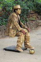 Mann ohne Sitz