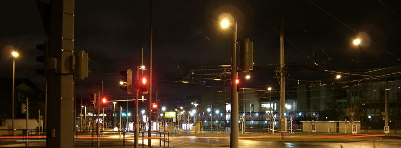 Mannheim at night