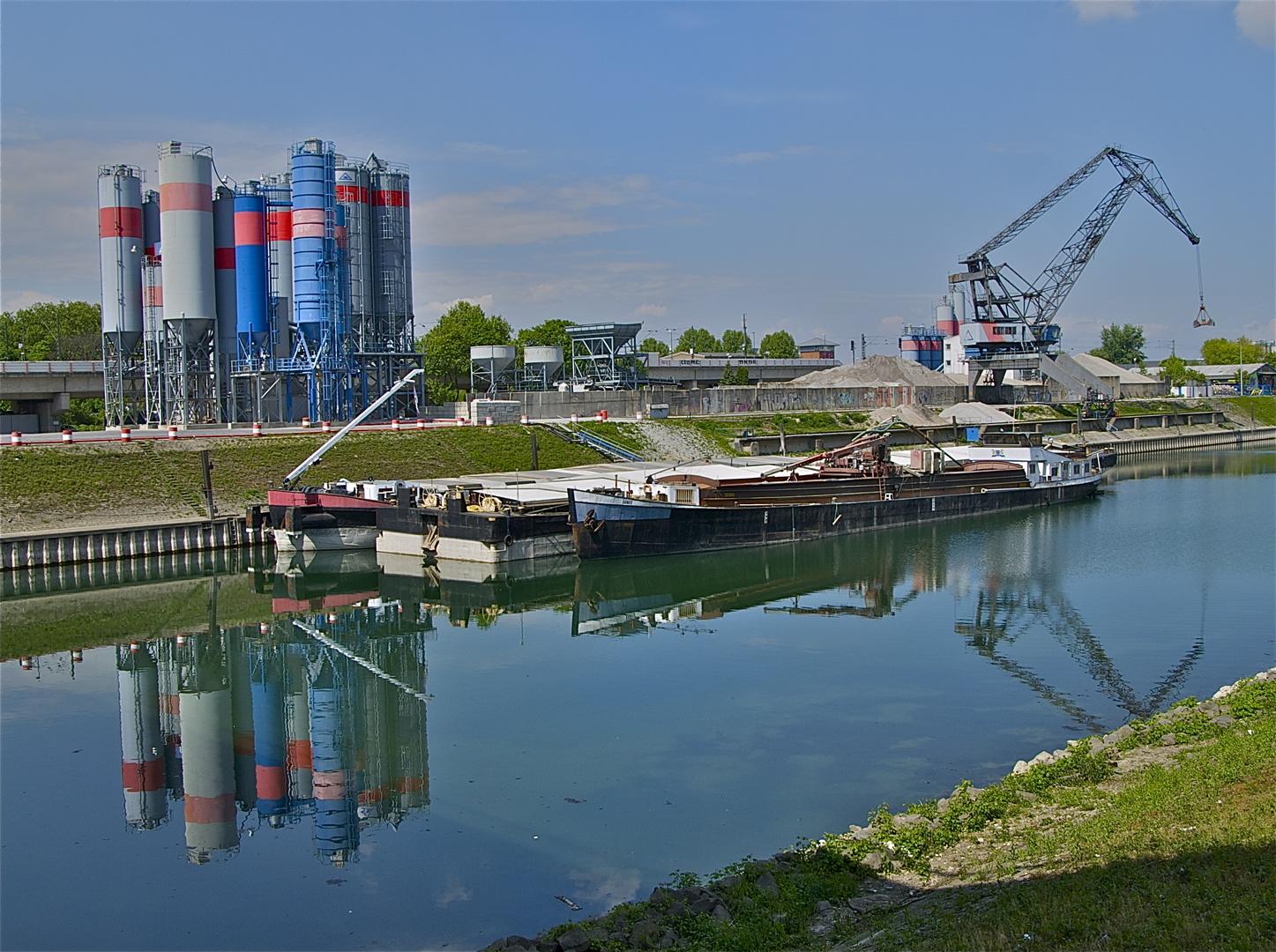 Mannheim Hafen Jungbusch