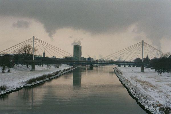 Mannheim im Winter