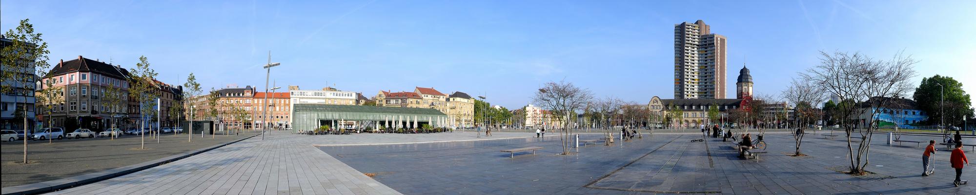 Mannheim Neckarstadt Alter Messplatz