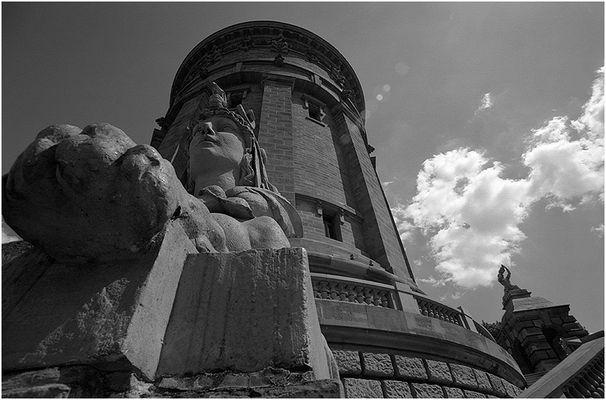Mannheim: Wasserturm