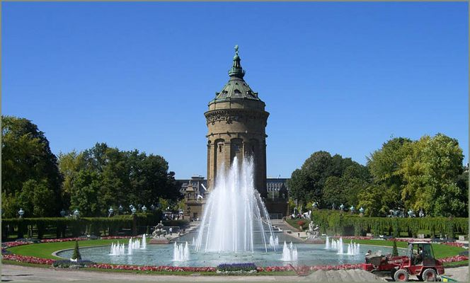 ~Mannheim Wasserturm~