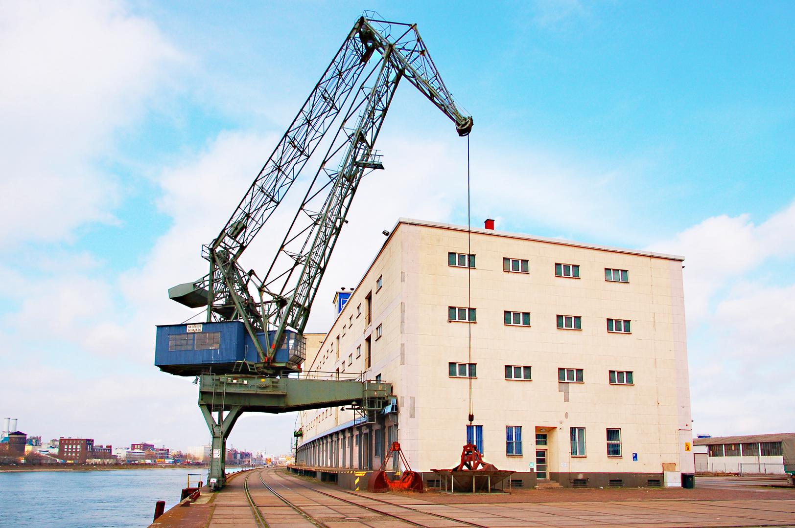 Mannheimer Hafen