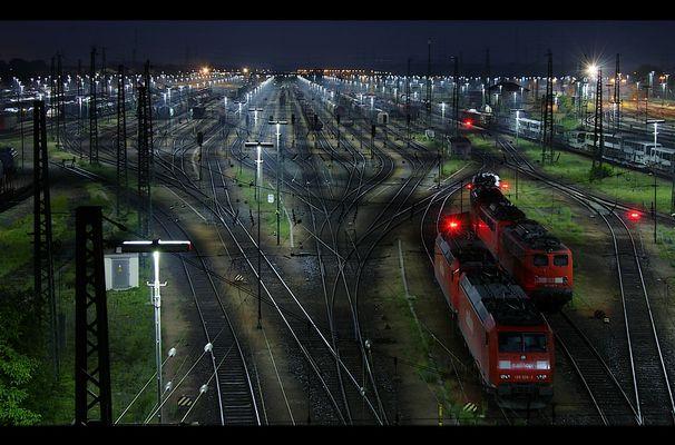 Mannheimer Stadtansichten: Rangierbahnhof