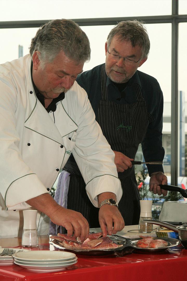 Manni Breuckmann und Walter Stemberg
