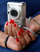 Mano fotografica