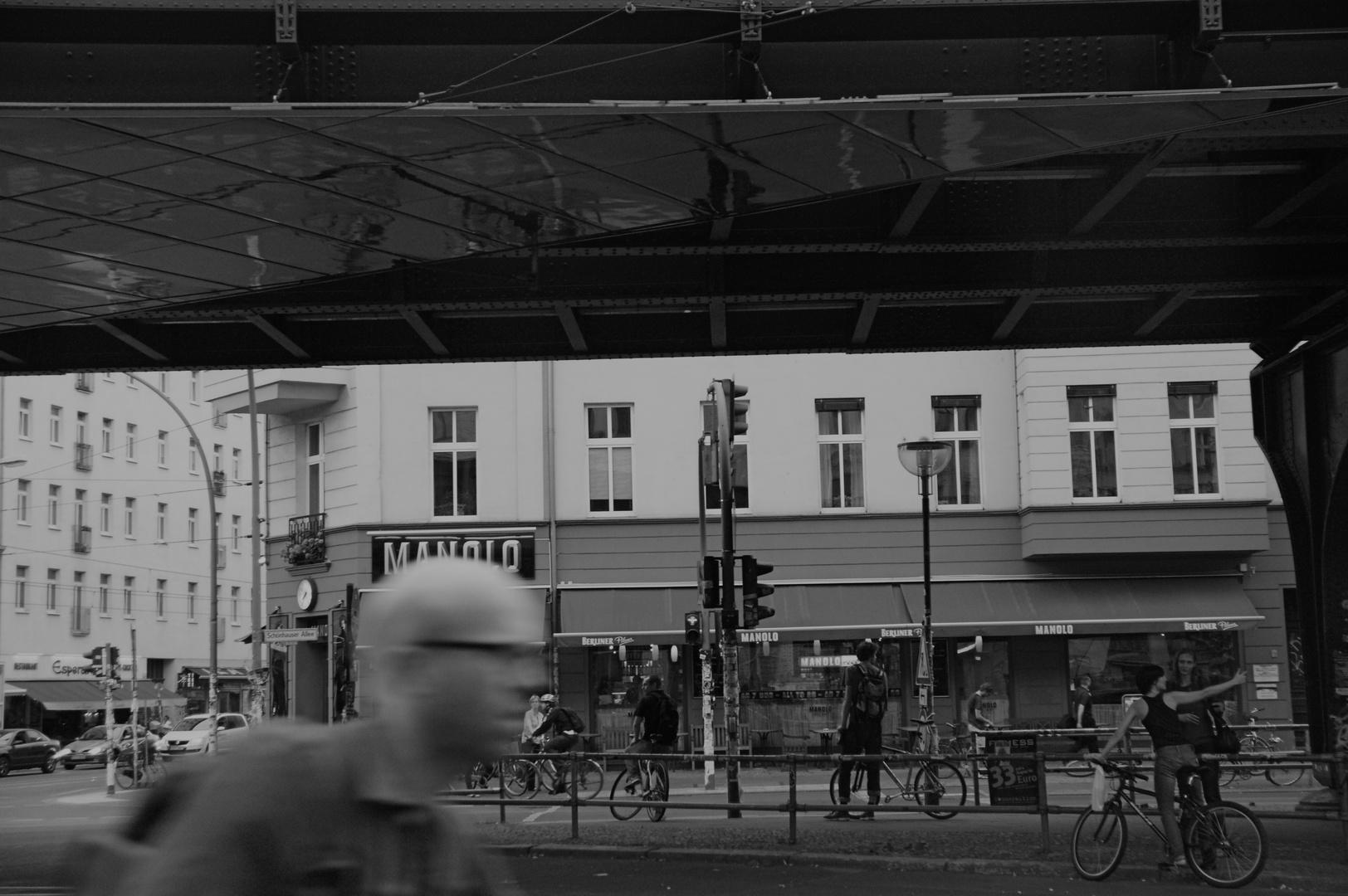Manolo en Berlín.