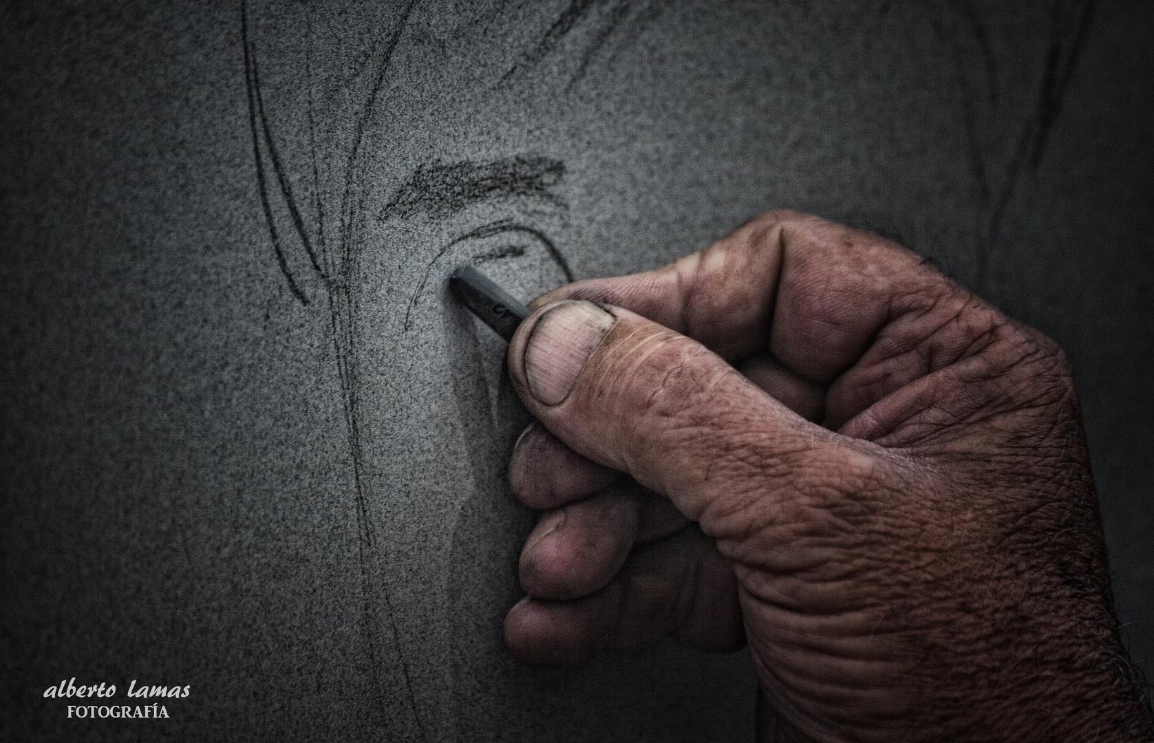 manos de artista