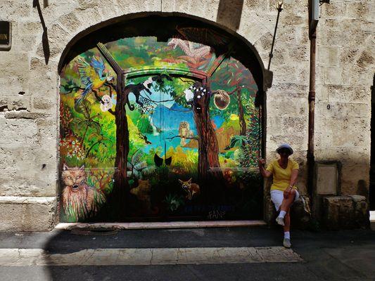 Manouchette vous présente un Art de rue