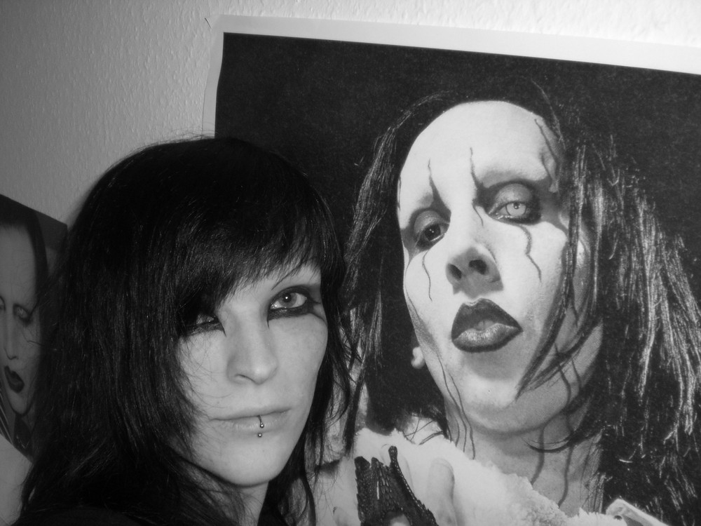 manson and me =)