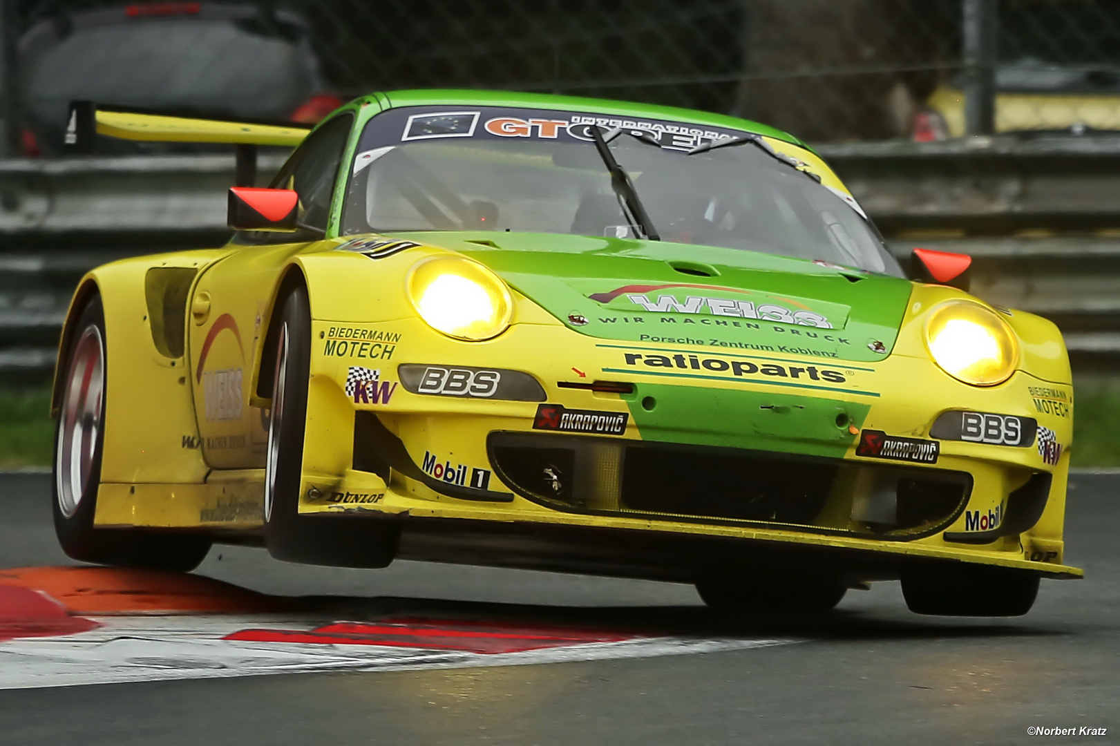 Manthey GT3 RSR pushing hard at Monza
